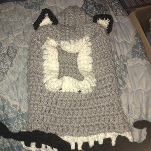 Crocheted Warm Winter Hat.